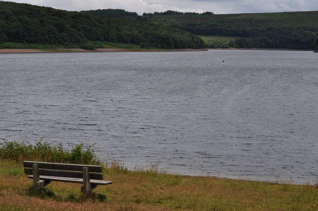 Exmoor : Wimbleball Lake & Bench