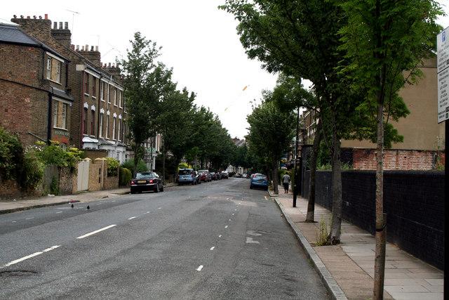 Islington:  Bryantwood Road