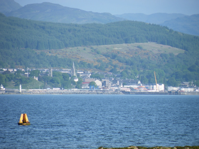 Dunoon from Ardgowan Point