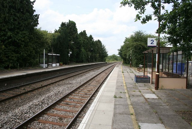 Shipton Station on the Paddington to Hereford  line