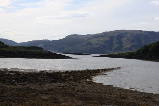 View towards Morvern from Port Ramsay