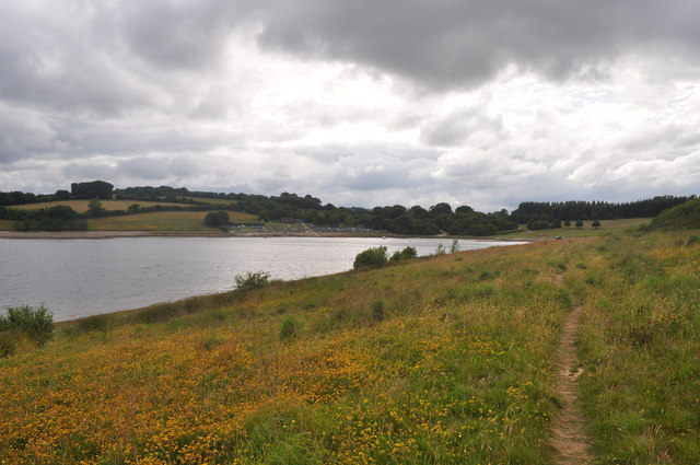 Exmoor : Wimbleball Lake & Footpath