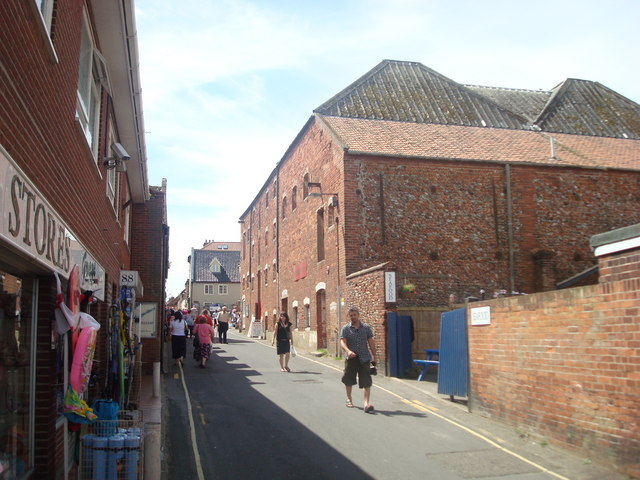 Staithe Street, Wells-next-the-sea