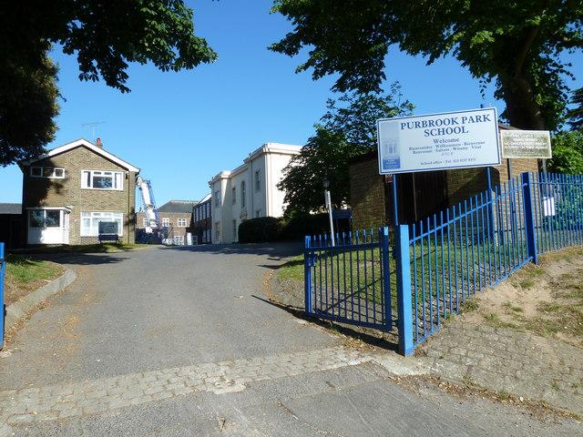 Caretaker's House, Purbrook Park School