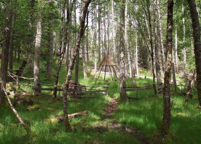 Teepee Culag wood