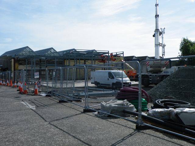 Gourock station reconstruction