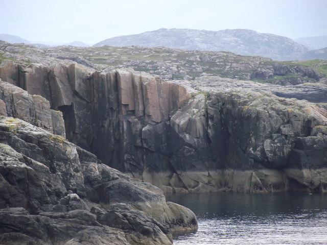 Sea cliff at Achmelvich