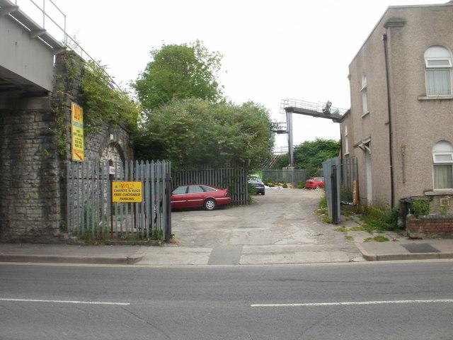MG's customer car park, Newport