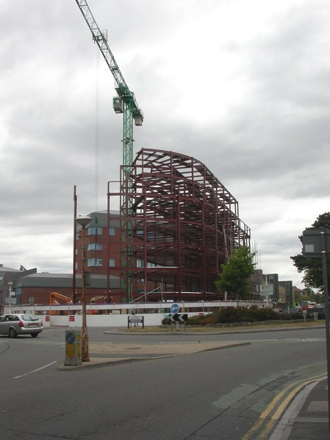 Bournemouth, building site