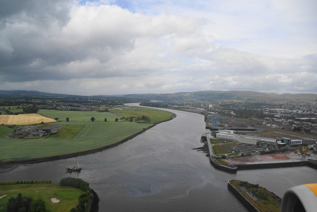 River Clyde from the air