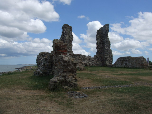 The ruins of St. Mary's, Reculver
