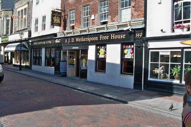 The Golden Lion Pub - Rochester