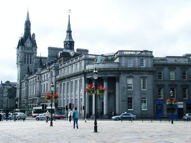 Aberdeen Town House and Tolbooth Greig Ritchie :: Geographaberdeen town