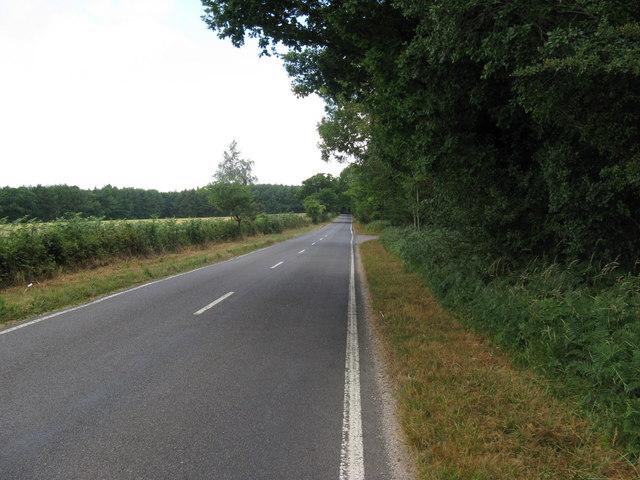 West along Selhurstpark Road