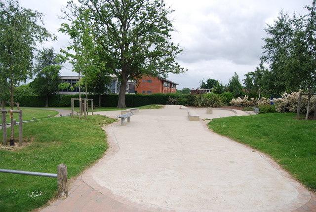 Skateboard park, St John's Recreation Ground