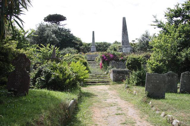 Old St. Mary's churchyard