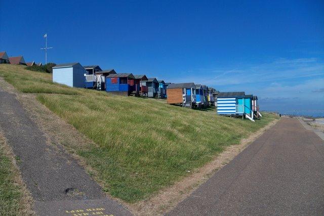 Beach Huts at Tankerton Beach