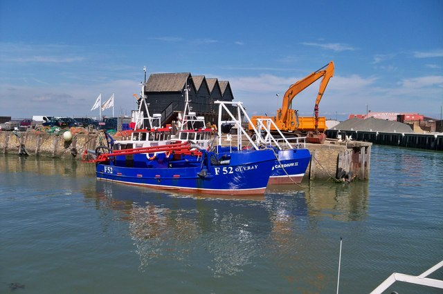 Dredgers - Whitstable Harbour
