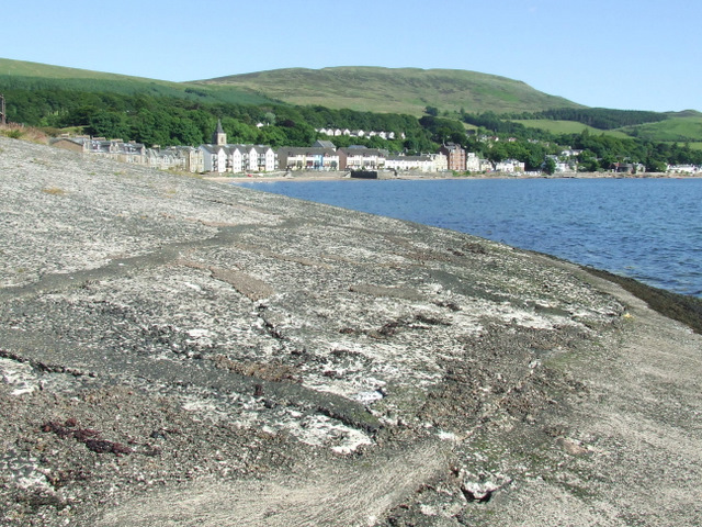 Remains of Fairlie Pier