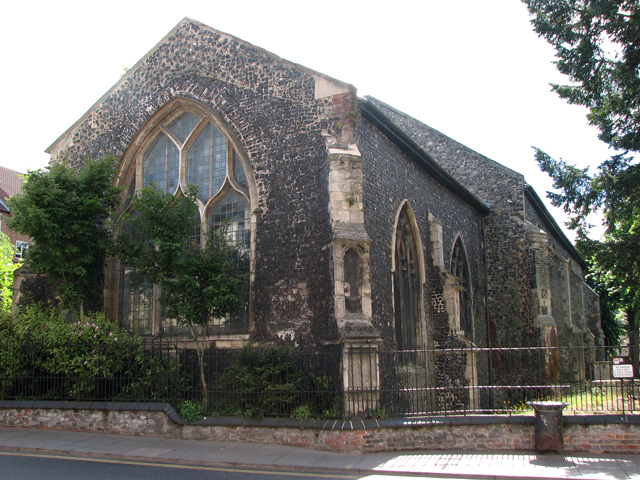 The church of SS Simon and Jude in Magdalen Street, Norwich