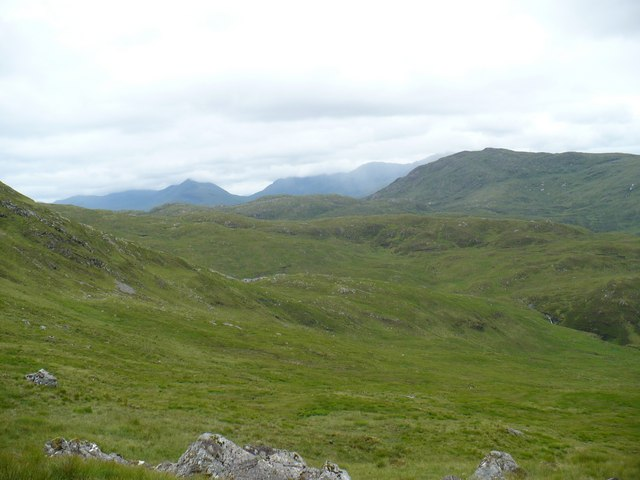 Southern slopes of Beinn Bhreac