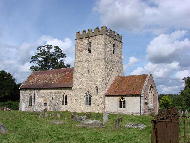 Ousden St Peter's Church