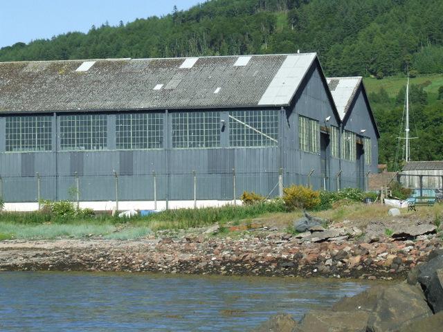 Old MOD sheds at Fairlie