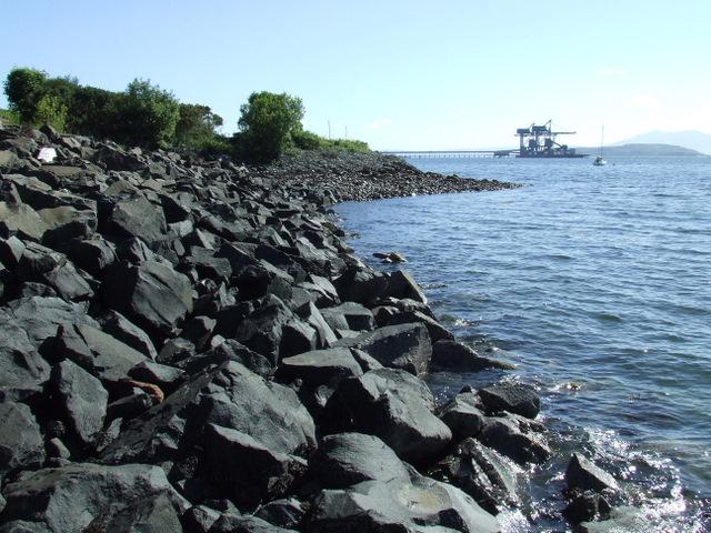 Site of Fairlie Pier