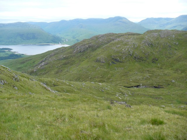 South east side of Beinn Molurgainn