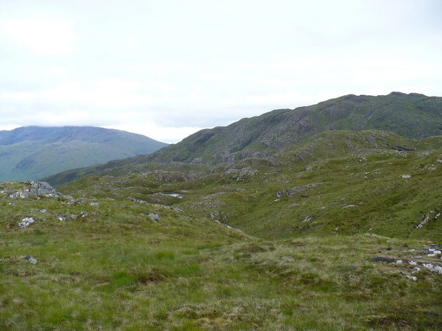 Southern part of Meall Dearg