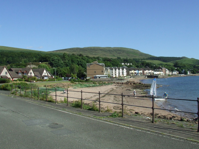 The beach at Fairlie