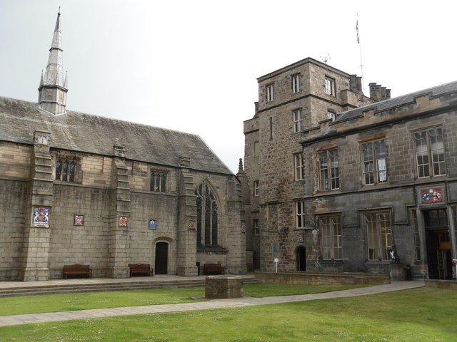 The Quadrangle, Kings College Aberdeen University