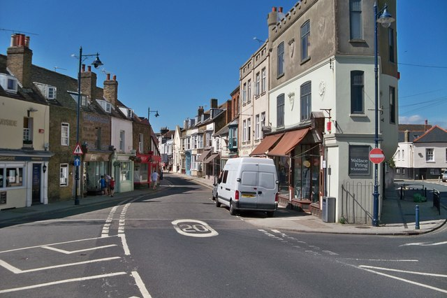 Narrow Building - Whitstable