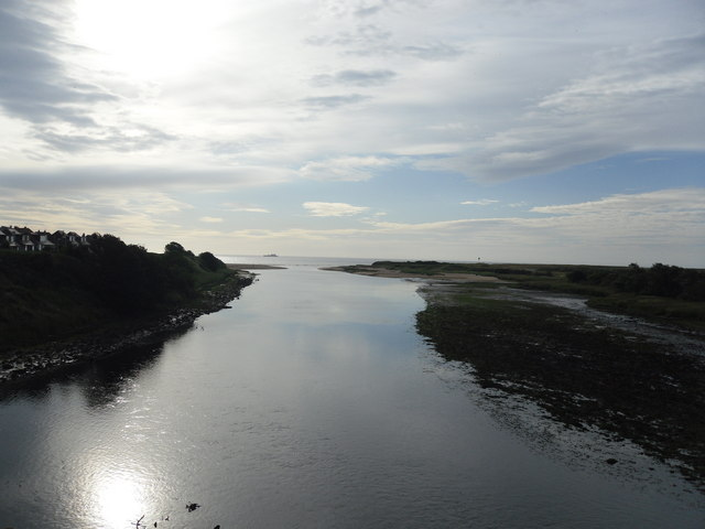 Looking East from the Bridge of Don