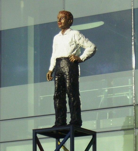 Everyman Statue, East Market Street, Edinburgh