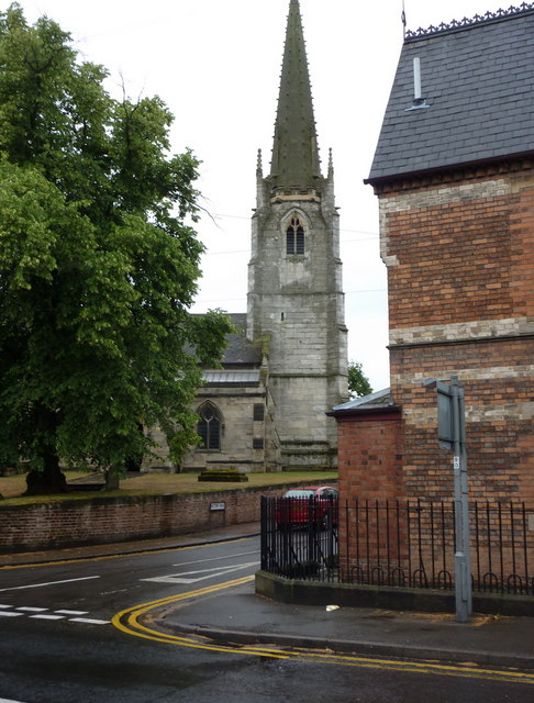St Michael's Church from Bridgegate