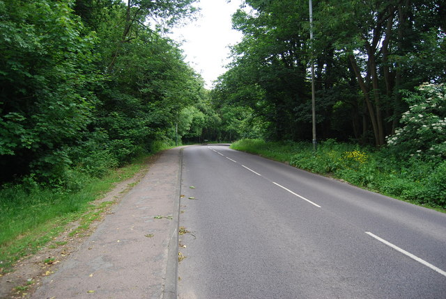 Rusthall Rd crossing Rusthall Common