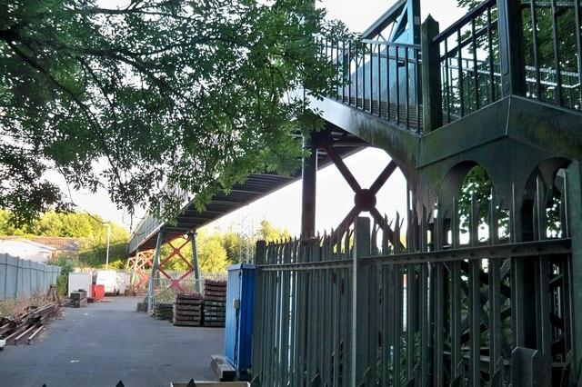 Footbridge over Railway  - Faversham
