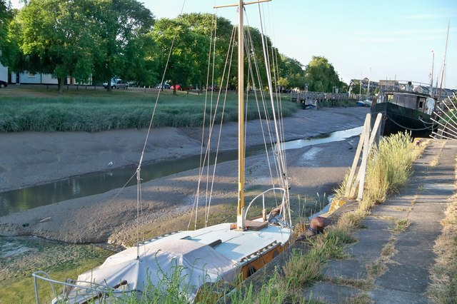 Low Tide - Faversham Creek