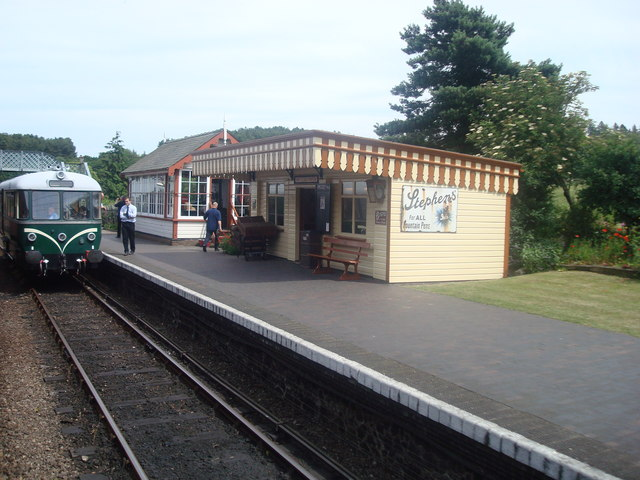 Weybourne Railway Station - North Norfolk Railway