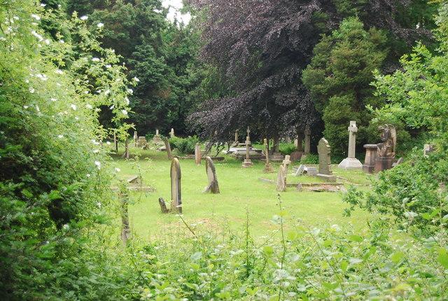 Churchyard, St Paul's Church, Rusthall Common