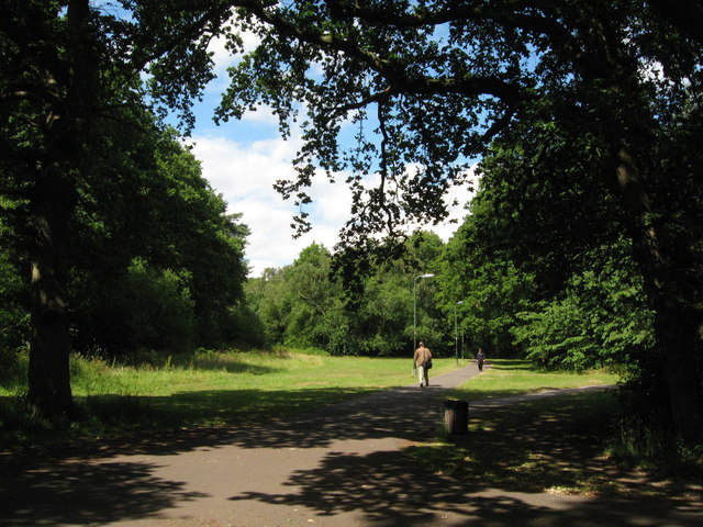 Lover's walk, near Southampton University