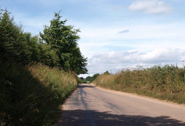 Lane to Yettington