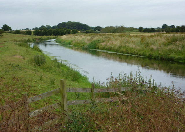 River Idle upstream from Eaton
