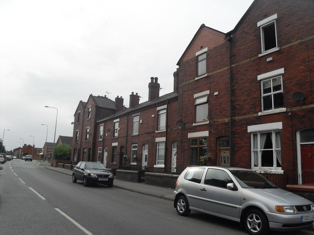 Terraced Row - Manchester Road, Tyldesley