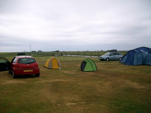 Shell Bay campsite, Lionacleit