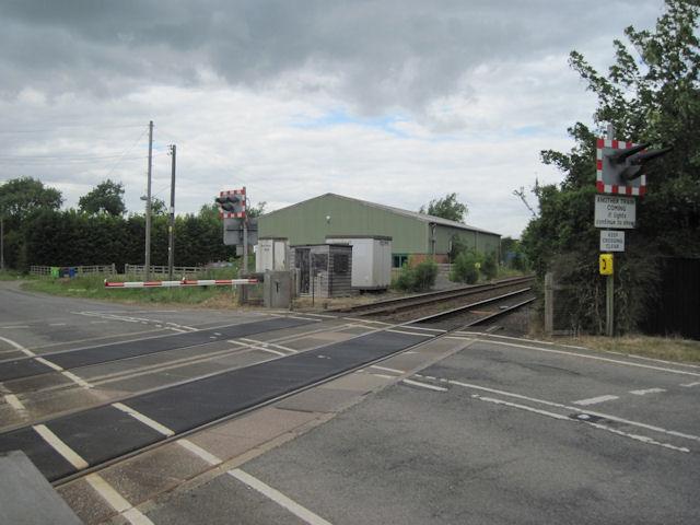 North Kelsey Moor Level Crossing