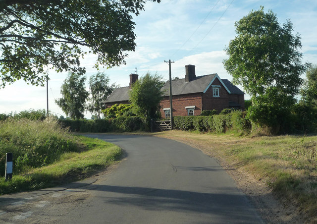 Cottage at Junction of Road to Claxby Puckacre