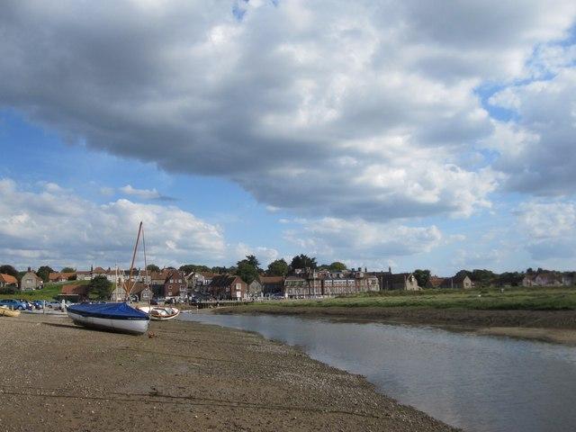Blakeney Harbour at low tide