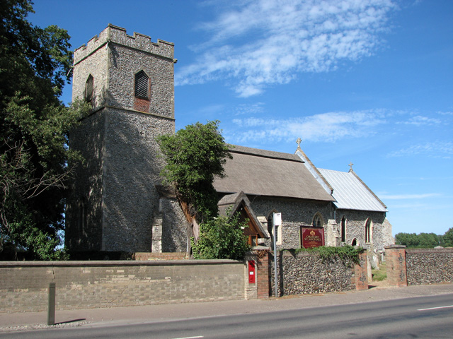 St Michael's church in Ormesby